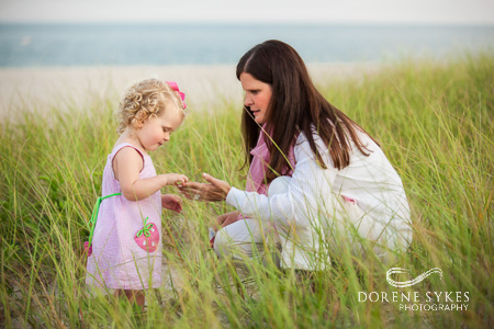 Mother and daughter Cape Cod
